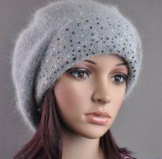 freeshippingPineapple pattern, rabbit fur hat / female models with the ball, wool hats, winter hatsCuffed knit cap diamond(China (Mainland))...