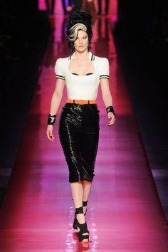 Jean Paul Gaultier. Stagione Haute Couture Primavera Estate 2012, città Parigi