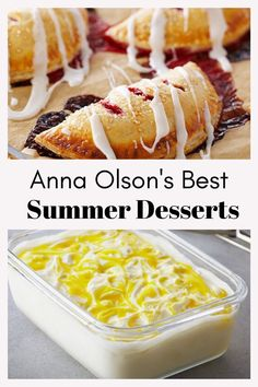 Best Summer Desserts, Summer Fruit, Summer Recipes, Summer Food, Cheesecake Recipes, Cookie Recipes, Dessert Recipes, Anna Olson, Food Network Canada