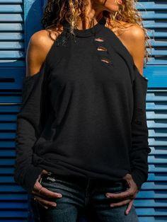 Long Sleeve Tops, Long Sleeve Shirts, Top Casual, Casual T Shirts, Pattern Fashion, Shirt Sleeves, T Shirts For Women, Clothes, Fashion Skirts