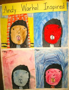 Three Ideas for Student Self-Portraits Artists For Kids, Art For Kids, Student Self Portraits, Simple Art, Easy Art, Elementary Art, Elementary Education, Art Classroom Management, Kids Workshop