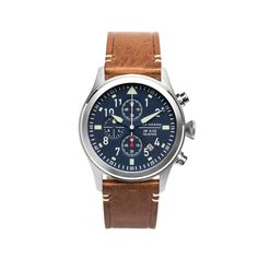 Jack Mason Aviator Chronograph Watch Navy Dial