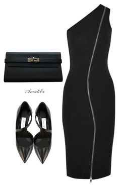 vanity by aramarescobar on Polyvore featuring polyvore fashion style Givenchy Jimmy Choo Hermès clothing