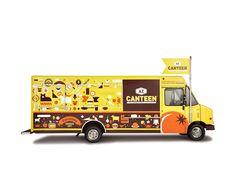 Andrew Zimmerman's  food truck. Designed by Spunk Design, Jeff Johnson.  AZ Canteen - Spunk Design Machine