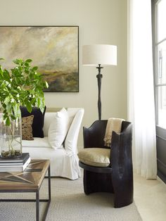 Living room chic rustic and refined Kate Jackson Design and Pursley Dixon Architecture