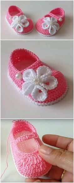 1272 Best Crochet Baby Bootie Patterns images in 2020