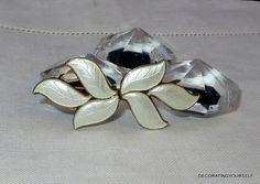 Norway Askel Holmsen Guilloche Enamel Leaf  by DecoratingYourself, $51.00