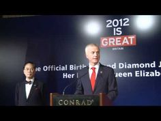 Celebrating the Queen's Diamond Jubilee in Hong Kong Hm The Queen, Hong Kong, Diamond, Celebrities, Music, Youtube, Movie Posters, Musica, Musik