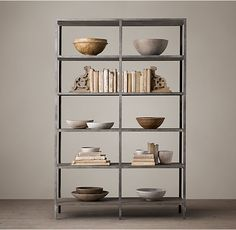 Vintage Industrial Double Shelving - on sale