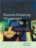 Hutt, Michael D., Speh, Thomas W.   (2004) .Business marketing management : a strategic view of industrial and organizational markets,  Cincinnati, Ohio : South-Western Publishing - CONSULTABLE A LA MÉDIATHÈQUE