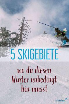 Eine der Skigebiete ist Saalbach. Hier befindet sich das angeblich modernste Liftsystems von Österreich – und die Skigebiete Saalbach, Hinterglemm und Fieberbrunn kombiniert stellen eines der größten Skigebiete unseres Landes dar. Ganze 270 Pistenkilometer laden mit feinstem Schnee zum Wintersporteln ein. Alpbach selbst ist wunderschön eingebettet inmitten von 2000er-Bergen  und lädt mit gemütlichen Cafés, schicken Boutiquen und auch Bars zu Ski-Pausen und Apres-Ski ein. Apres Ski, Skiing, Travel, Best Ski Resorts, Ski Trips, Winter Vacations, Ski, Viajes, Destinations