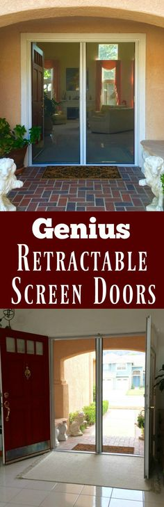 1000 images about dream home on pinterest wrap around for Genius retractable screen