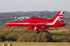 RAF Red Arrows Hawk, 2015.
