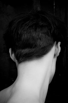 cool way to cut the back of a pixie