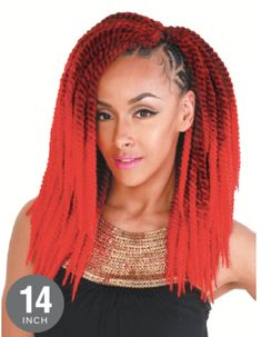 "Zury Senegalese Twist Big Braid 14""                              …"
