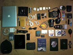 Ultimate Space-Efficient Travelling -Gear by Eric Ritchey