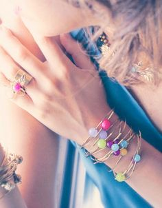 3 Stackable bracelet.