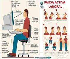 Pausa Activa Laboral - ERGONOMIA Y SALUD OCUPACIONAL (infografía) | Bibliotecas Escolares Argentinas | Scoop.it