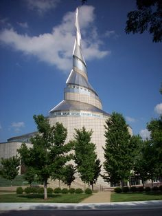 Community of Christ Temple (and headquarters) in Independence, MO...designed by Gyo Obata...tours available...