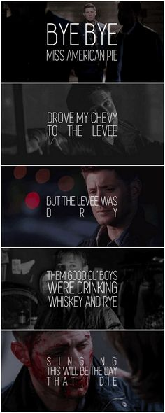 [gifset] 1x01 Pilot, 9x23 Do You Believe In Miracles #SPN #Dean #Sam
