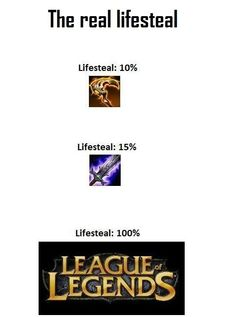 League of Legends : The real lifesteal
