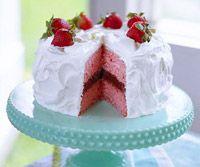 Yum! Strawberry-Chocolate Cake!