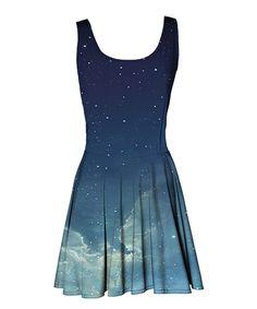 Look at this #zulilyfind! Blue Serene Sky Ruffle Dress - Women by Mr. Gugu & Miss Go #zulilyfinds