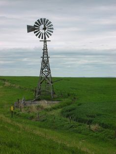 5. Is it possible for a windmill to look cheerful? This one in Garden County seems to.