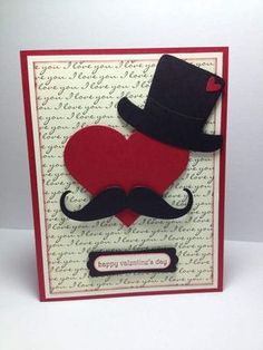 is the history of valentines day for valentines day date designs valentines day day movies 2019 for girls on valentines day day delivery gifts day boy shirts day gifts delivered Valentines Day History, Valentines Day Date, Valentine Day Cards, Love Cards, Diy Cards, Pinterest Diy Crafts, Fathers Day Crafts, Masculine Cards, Anniversary Cards