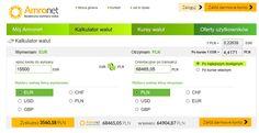 Ciąg dalszy CYKLU EDUKACYJNEGO nr 7. Jak sprawdzić ile można zaoszczędzić wymieniając waluty w Amronet.pl?  W celu sprawdzenia ile pieniędzy można zaoszczędzić wymieniając waluty w Amronet.pl, stworzyliśmy interaktywne innowacyjne narzędzie, tak zwany Kalkulator Walut,  który znajduje się pod linkiem: https://www.konto.amronet.pl/Home/Kalkulator-Walut .