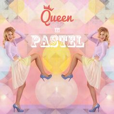 "Our theme in this weekend ""queen in pastel"", Check this out girls :)"