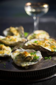 Fish Recipes, Uk Recipes, Oyster Recipes, Fresh Oysters, Gruyere Cheese, Salmon Fillets, Fish And Seafood, Food To Make, Stuffed Peppers