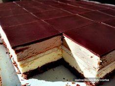 Ali stvarno užitak.... Cookie Desserts, No Bake Desserts, Cookie Recipes, Dessert Recipes, Cake Slicer, Kolaci I Torte, Torte Cake, Croatian Recipes, Desserts