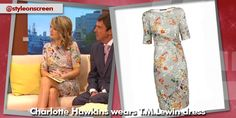 where did charlotte hawkins get her floral dress from on good morning britain - Style on Screen Charlotte Hawkins, Good Morning Britain, Dresses With Sleeves, Long Sleeve, Floral, How To Wear, Style, Fashion, Swag