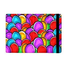 Colored Easter Eggs Apple iPad Mini Flip Case from Stuff Or Something