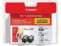 Canon Black and White and Color ink for a PIXMA MP480 printer