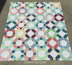 Picnic at the Fairground quilt top