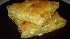 Pite e shpejtë - Receta Gatimi Shqip Albanian Recipes, Savory Muffins, Savoury Pies, Cheese Pies, Greek Dishes, Sweet Pie, Pastry Cake, Sweet Cakes, Greek Recipes