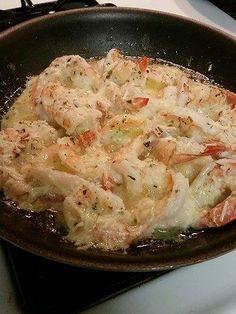 Garlic Lemon Butter Parmesan Shrimp