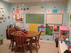 REAL Homeschool classroom ideas {and linky} - Hip Homeschool Moms