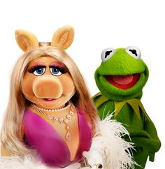 Kermit & Miss Piggy Gallery Disney Muppets Miss Piggy Kostüm, Miss Piggy Muppets, Les Muppets, Kermit And Miss Piggy, Kermit The Frog Costume, Muppets Most Wanted, Felt Puppets, The Muppet Show, Frog And Toad