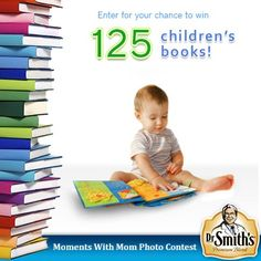 Dr. Smith's Diaper Rash Ointment is giving away three huge children's book libraries on Facebook.