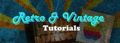 Photoshop tutorial on retro and vintage ideas