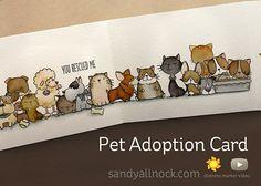 Pet Adoption Card, Distress Marker Hex Chart, and winners!