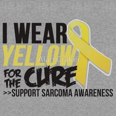 #Sarcoma #Ribbon For The Cure #Awareness