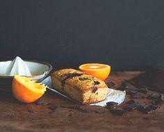 The Chalkboard Bakes: Gluten-Free Chocolate Orange Loaf Cake #glutenfree
