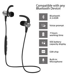 Bluetooth Headphones, Adseon Wireless 4.1 Bluetooth Headset Headphones Magnetic In-ear Earbuds Sweatproof Sports Earpieces Headset Lightweight Stereo Noise Cancelling Earphones with Built-in Michttp://www.findcheapwireless.com/bluetooth-headphones-adseon-wireless-4-1-bluetooth-headset-headphones-magnetic-in-ear-earbuds-sweatproof-sports-earpieces-headset-lightweight-stereo-noise-cancelling-earphones-with-built-in-mic/