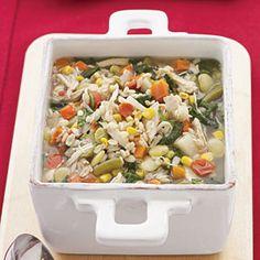 Chicken-Vegetable-Barley Soup | MyRecipes.com #myplate #protein #grain #vegetable