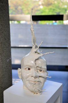 Incredible Anthropomorphic Ceramic Sculptures by Johnson Tsang