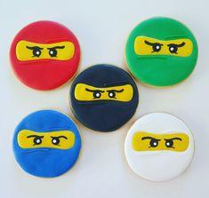 Ninja cookies Ninja, Parties, Cookies, Desserts, Food, Fiestas, Crack Crackers, Tailgate Desserts, Deserts